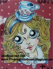 RANDI DANDI ALICE SERIES Rubber Stamps