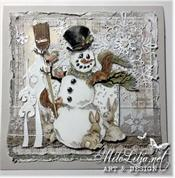 RANDI DANDI CHRISTMAS Rubber Stamps