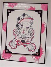 Clowns Rubber Stamps